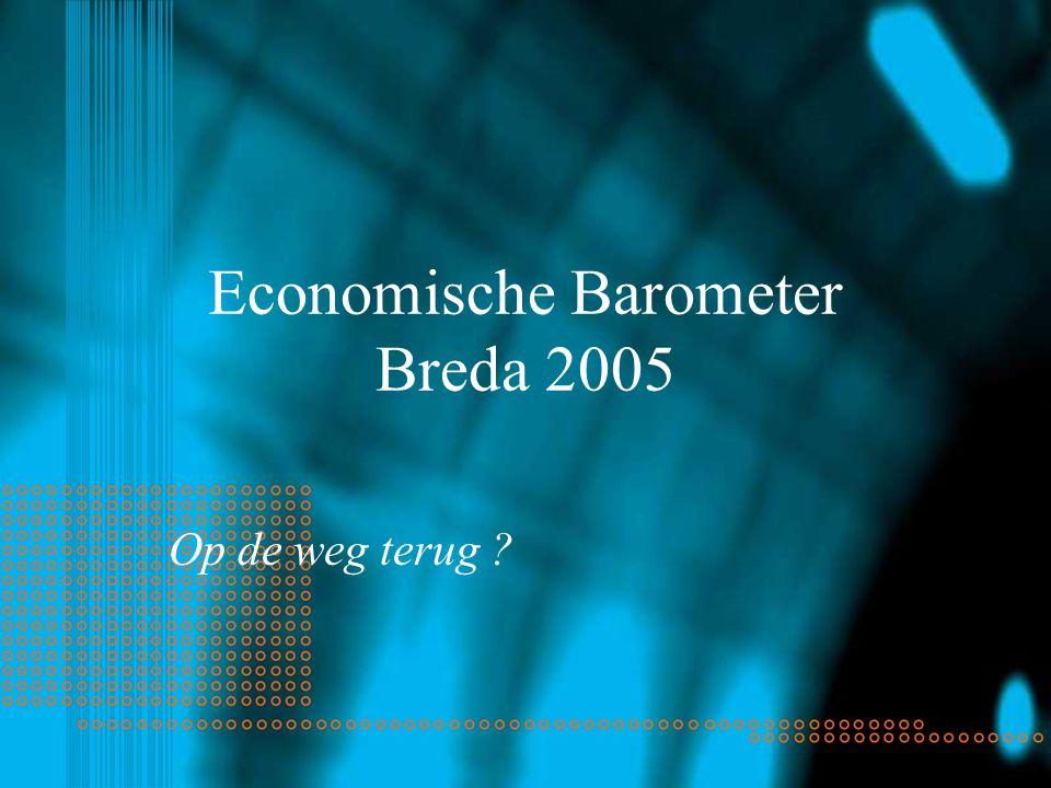 Economische Barometer Breda 2005 Op de weg terug ?