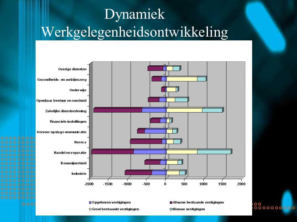 Dynamiek Werkgelegenheidsontwikkeling