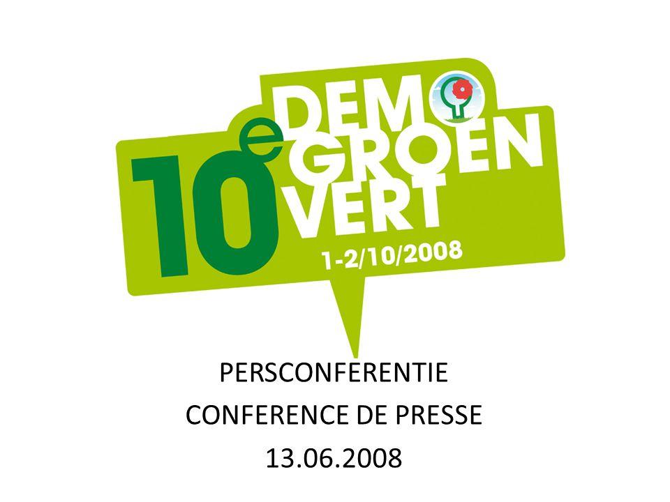 PERSCONFERENTIE CONFERENCE DE PRESSE 13.06.2008
