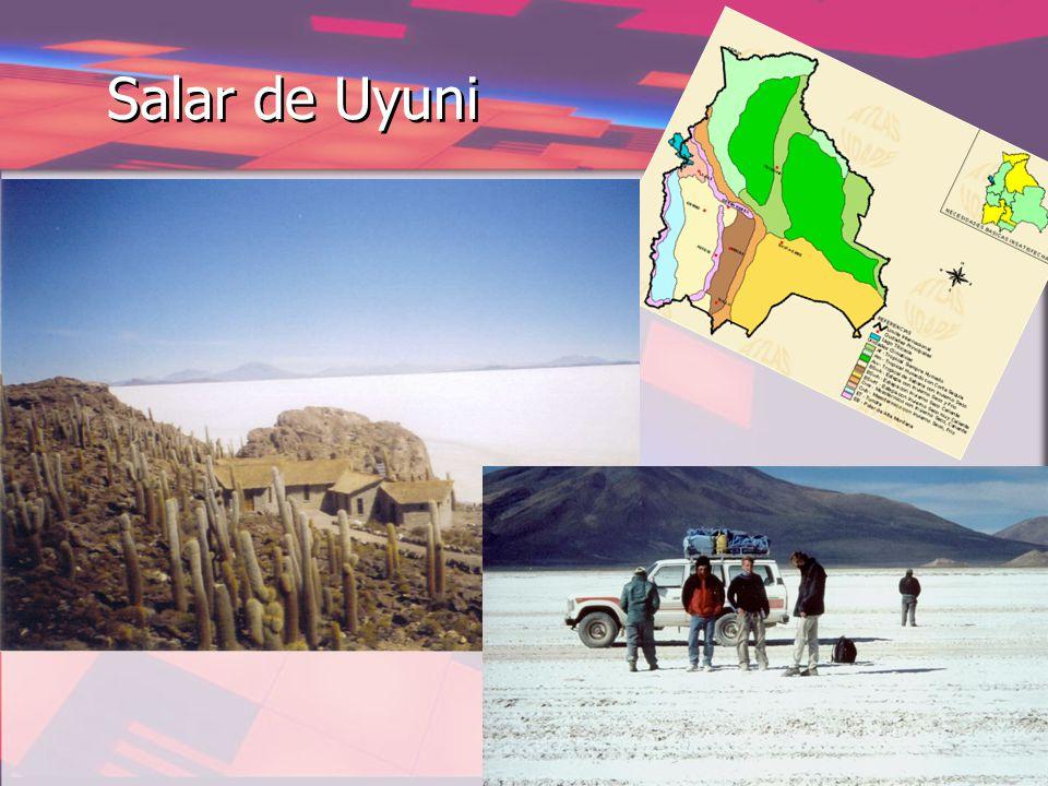 Salar de Uyuni ET Toendraklimaat EB=EH Hooggebergteklimaat