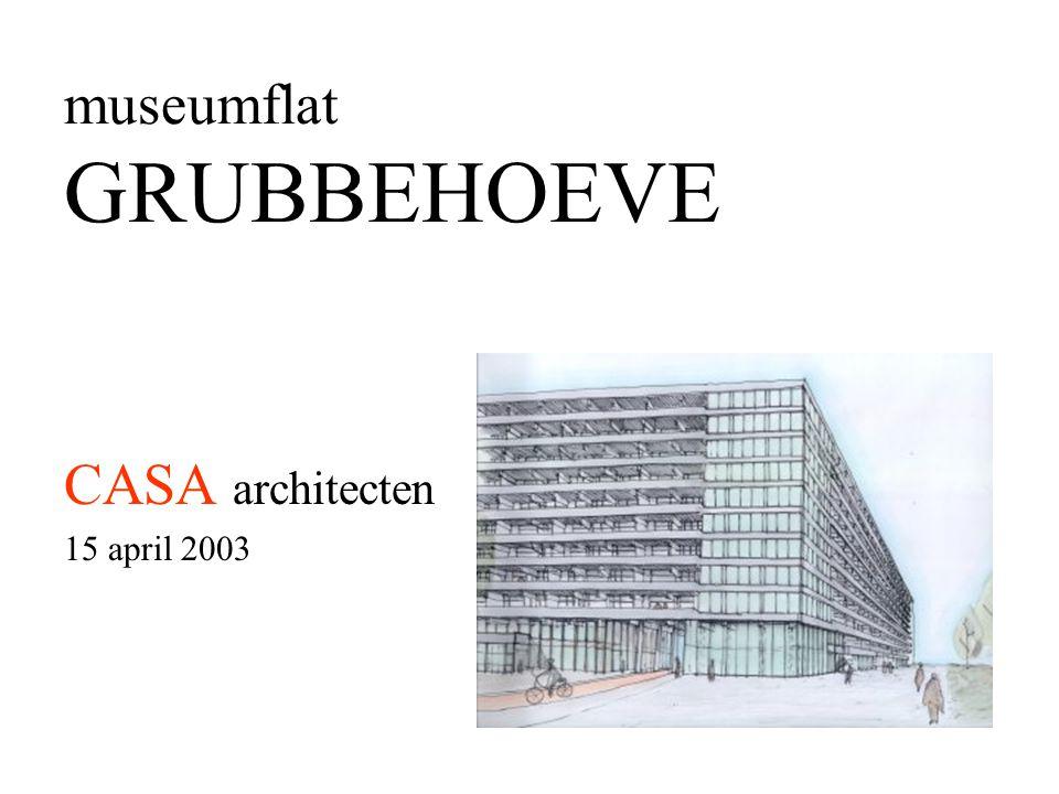 museumflat GRUBBEHOEVE CASA architecten 15 april 2003