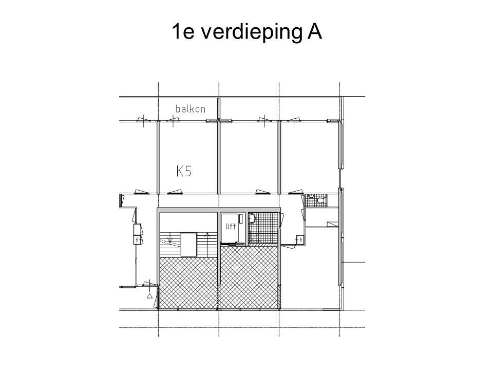 1e verdieping A