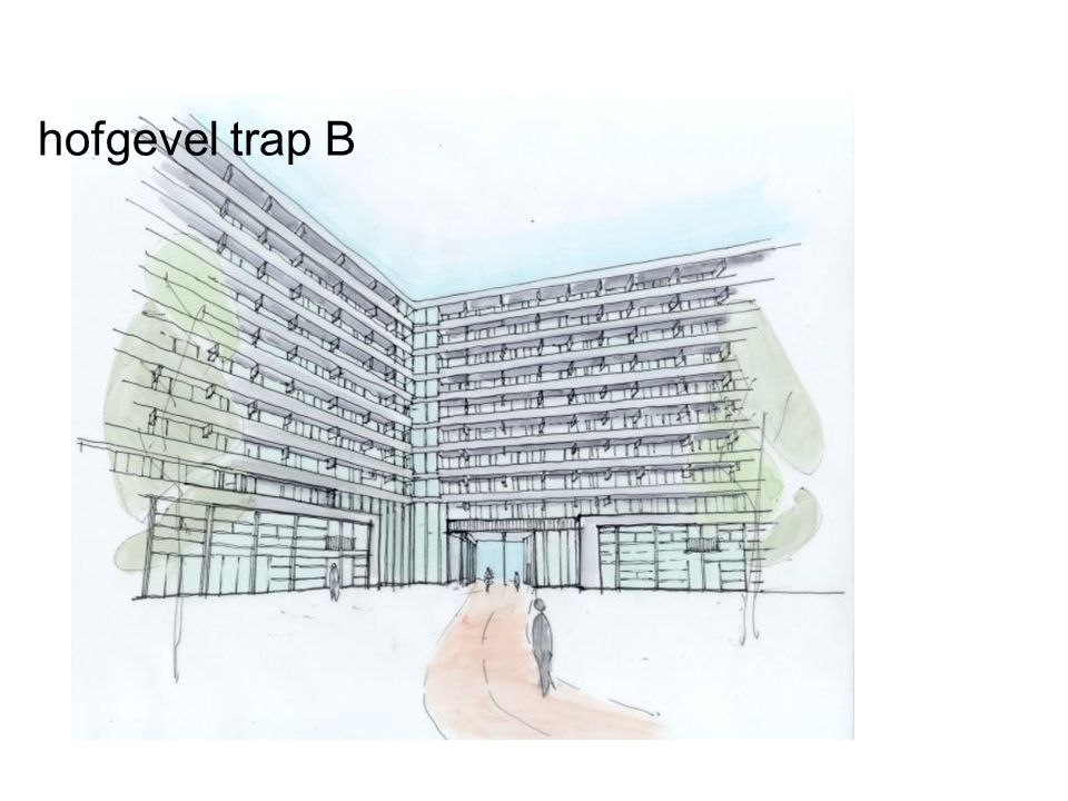 hofgevel trap B