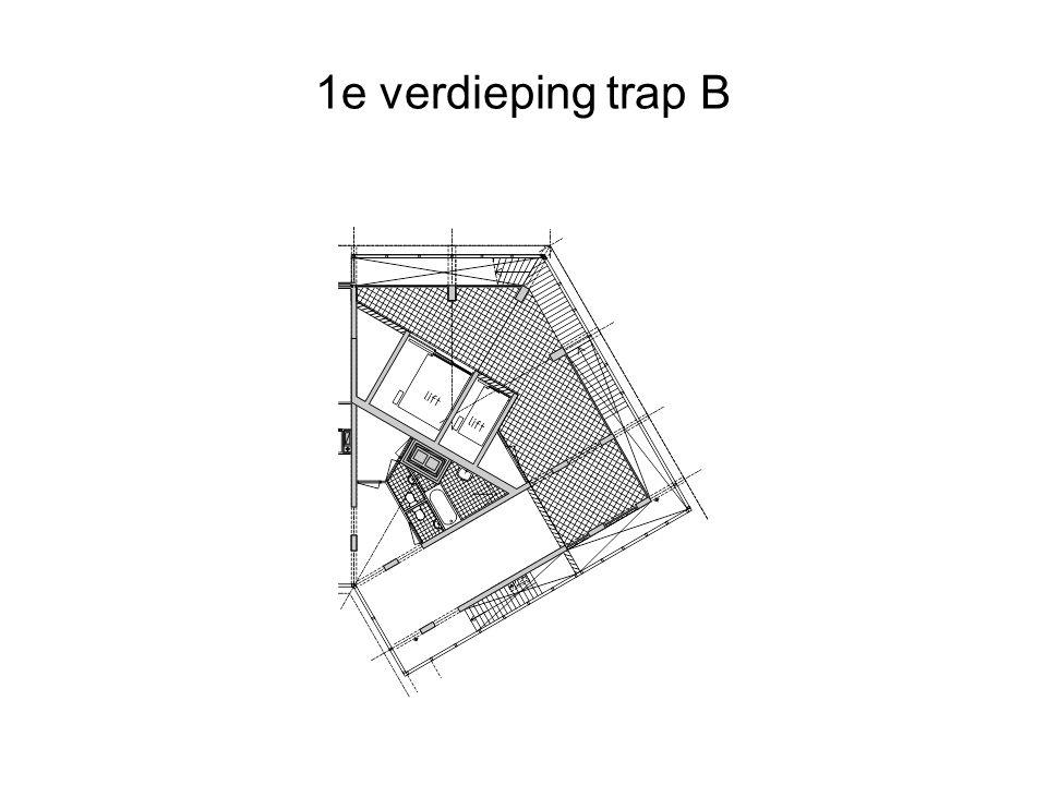 1e verdieping trap B
