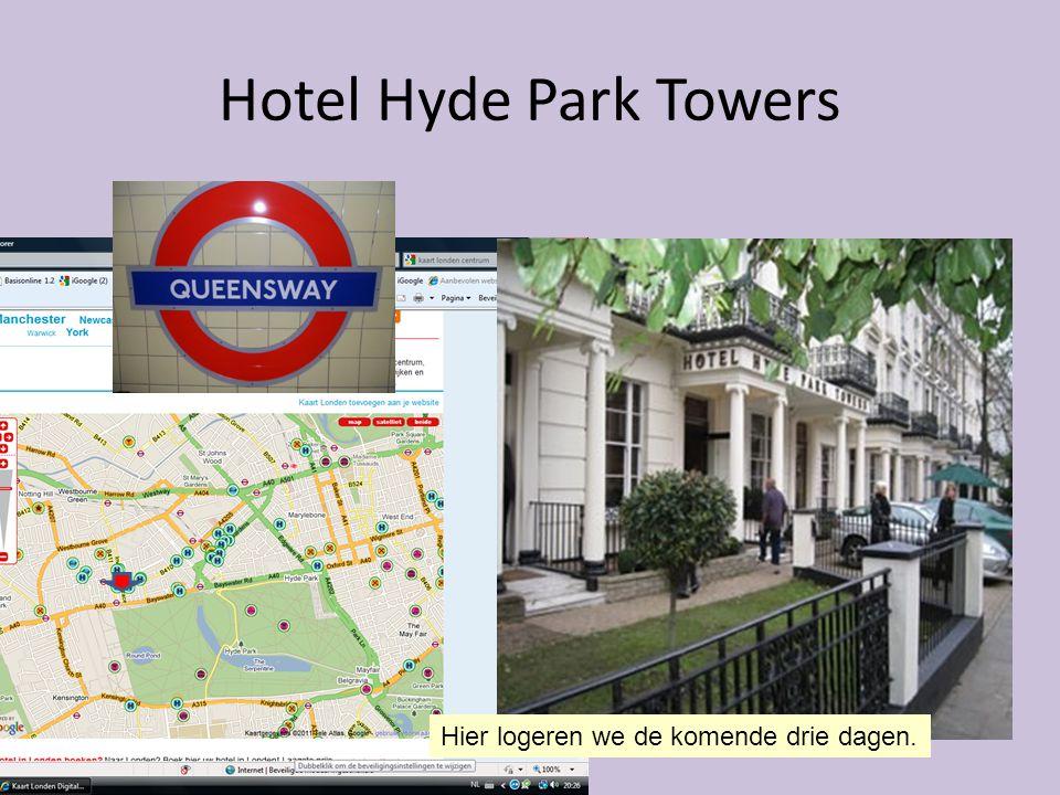 Hotel Hyde Park Towers Hier logeren we de komende drie dagen.