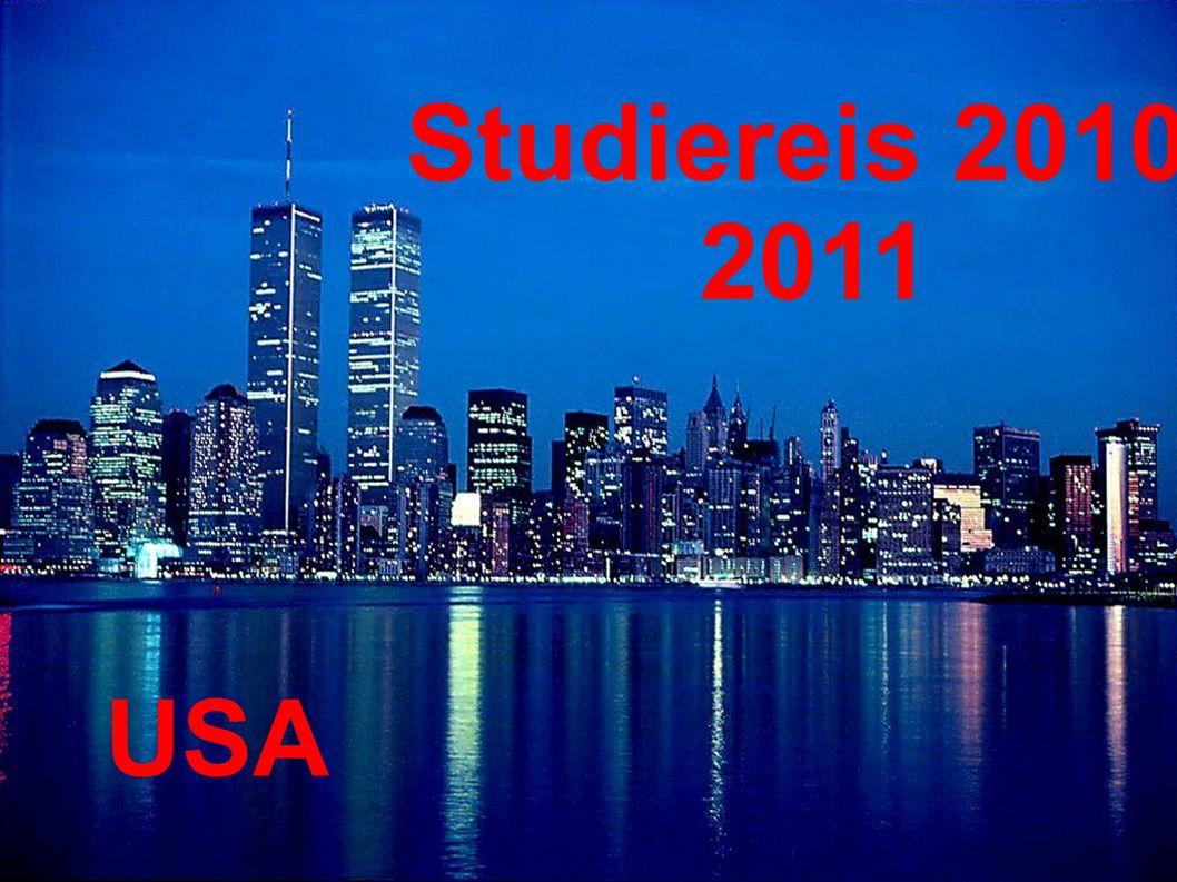 Studiereis 2010- 2011 USA