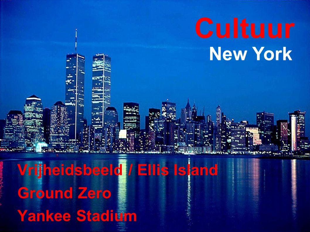 Cultuur Vrijheidsbeeld / Ellis Island Ground Zero Yankee Stadium New York