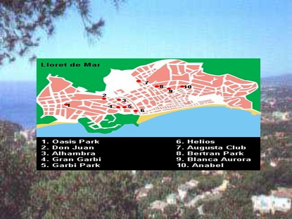 HOTEL ANABEL*** C/Felicia Serra 10, 17310 Lloret de Mar, 00-34972-366200 Ligging: op ca.