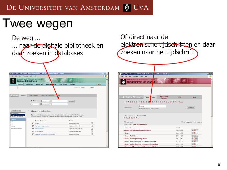 37 Oefeningen Oefeningen: http://www.science.uva.nl/library/cursus/Biologie/201 0/index_nl.