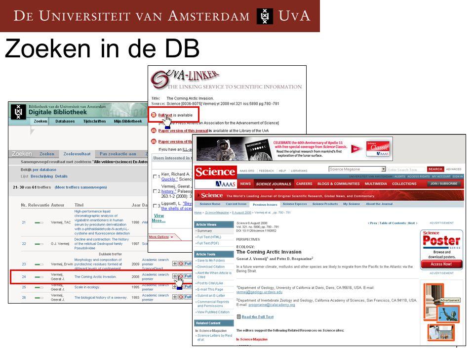 28 Toegang vanuit huis UvA-dsl UvA-vpn – virtual private network Studentsite of http://www.ic.uva.nlhttp://www.ic.uva.nl