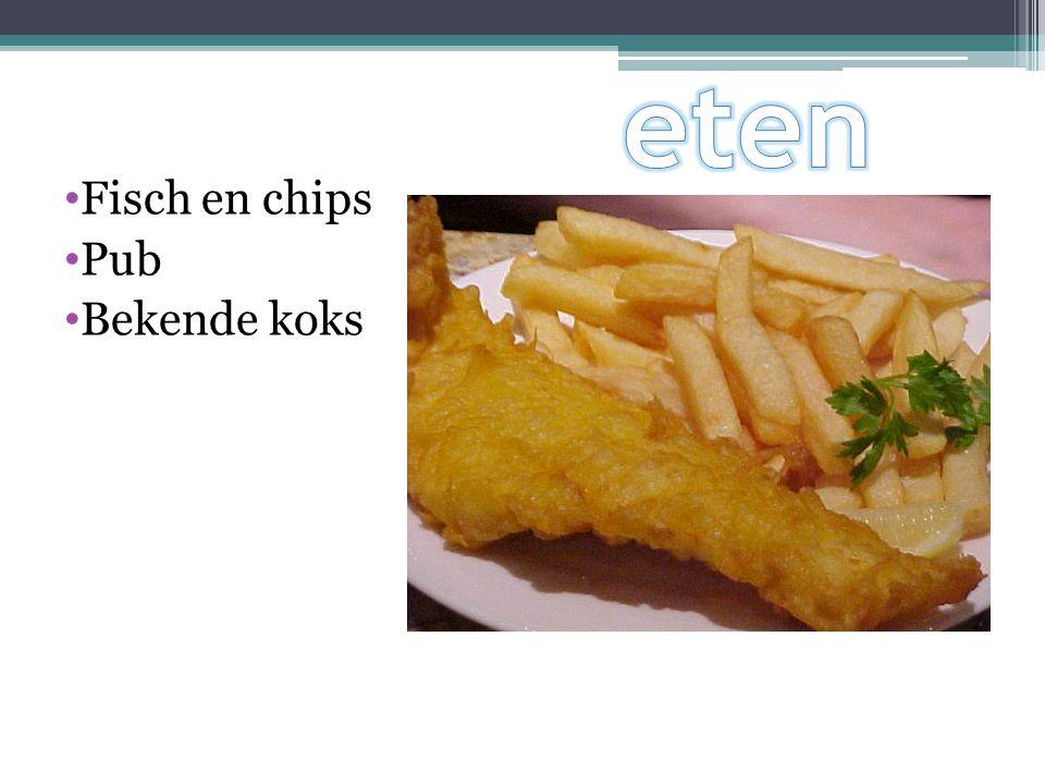 Fisch en chips Pub Bekende koks