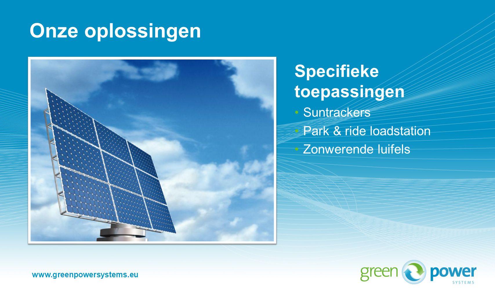 Meer informatie: Green Power Systems Beegderveld 5, 6099 NC Beegden Postbus 5050, 6097 ZH Heel T.