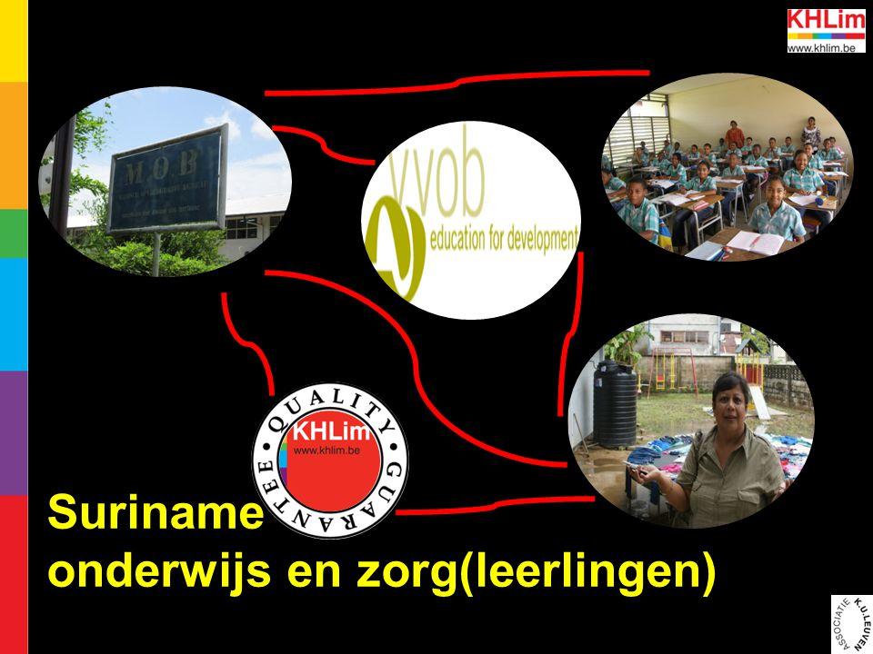 Suriname onderwijs en zorg(leerlingen)
