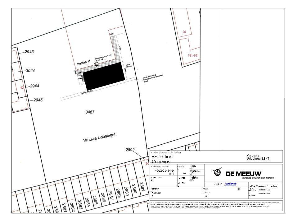 20ft container opdrachtgever projectadres Stichting Conexus Vrouwe Udasingel LENT tekeningnummer Q12-01484-1- 001 datu m 2-4-2013 revisi e A geteken d