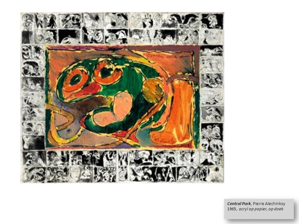 Pierre Alechinsky &Cobra Cobra tentoonstelling 1949 in Stedelijk Museum Amsterdam.
