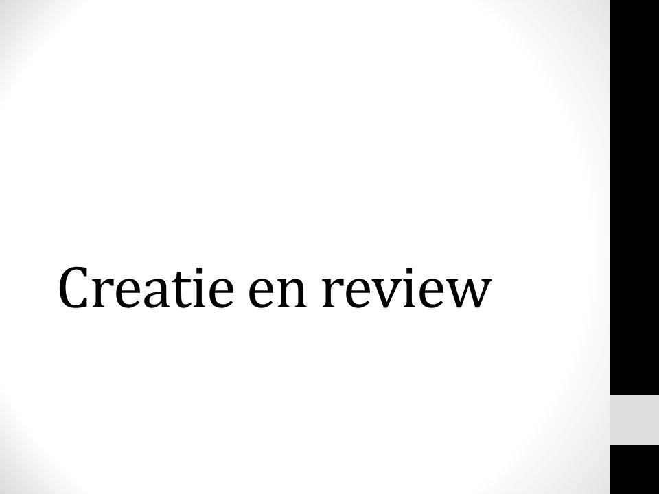 Creatie en review