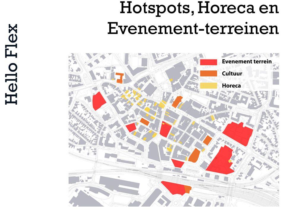 Hello Flex Hotspots, Horeca en Evenement-terreinen
