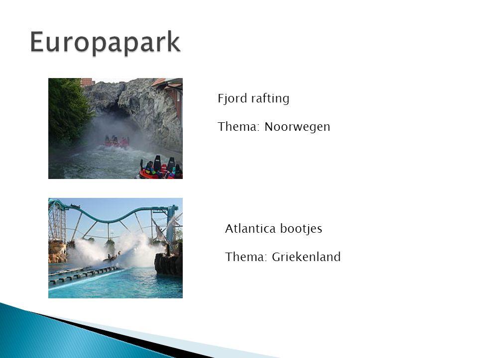 Fjord rafting Thema: Noorwegen Atlantica bootjes Thema: Griekenland