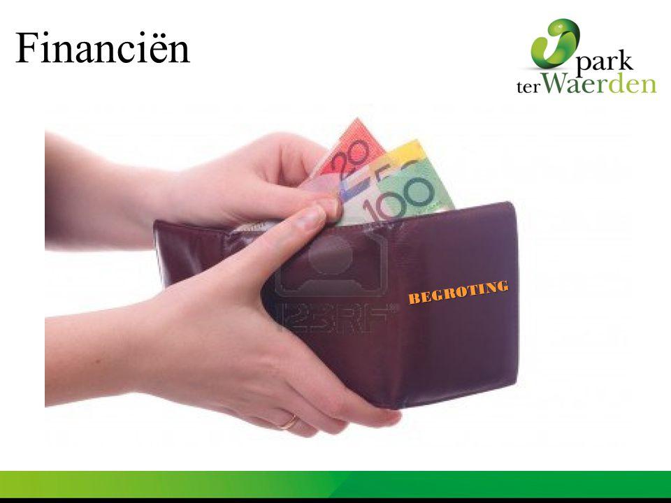 BEGROTING Financiën