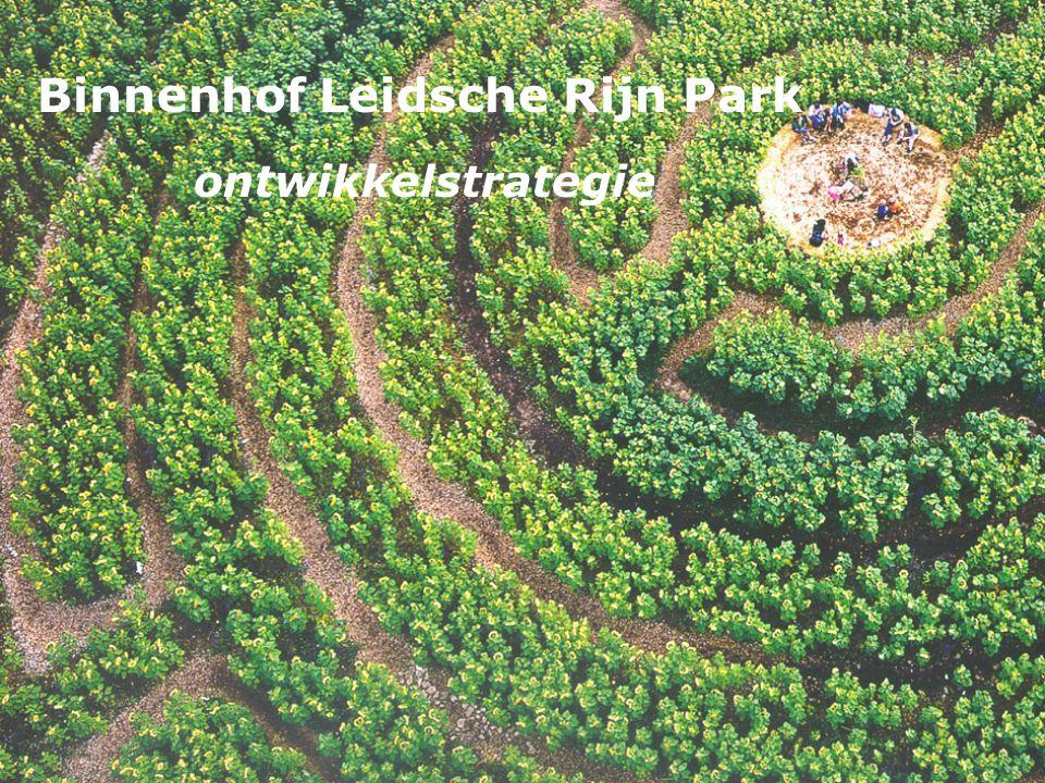 Binnenhof Leidsche Rijn Park ontwikkelstrategie