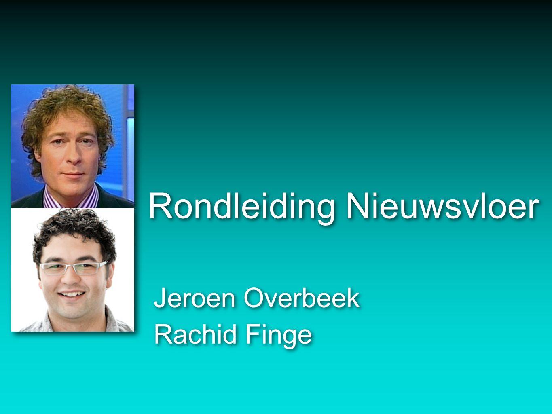 Rondleiding Nieuwsvloer Jeroen Overbeek Rachid Finge Jeroen Overbeek Rachid Finge