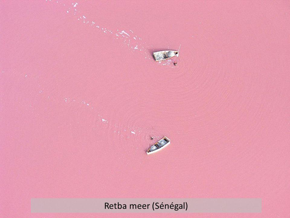 Retba meer (Sénégal)