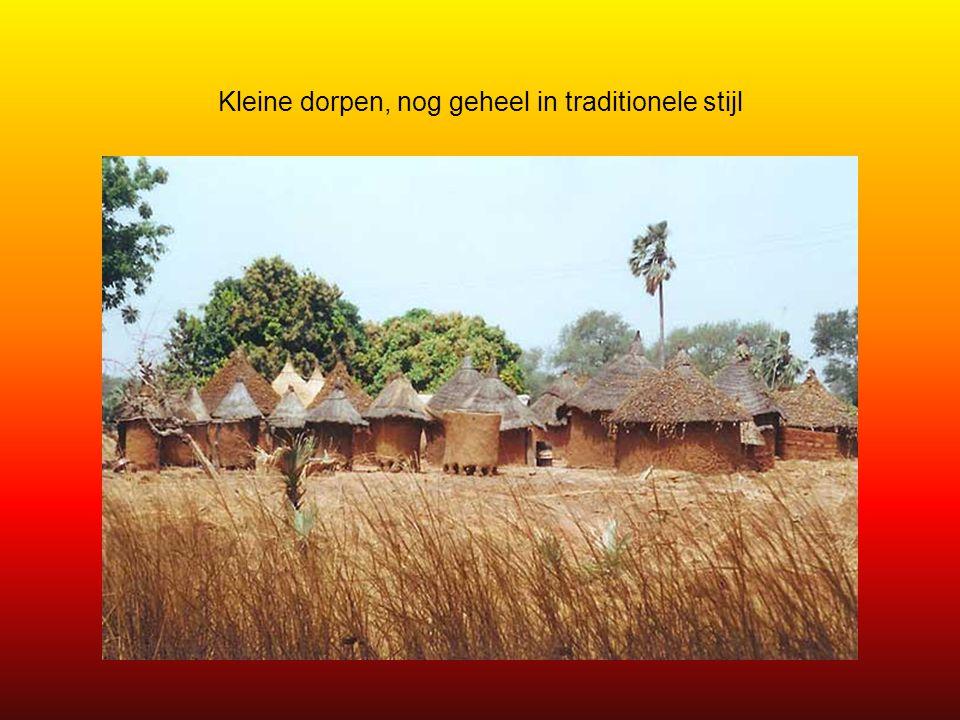 Dit landschap is typerend voor West-Afrika.