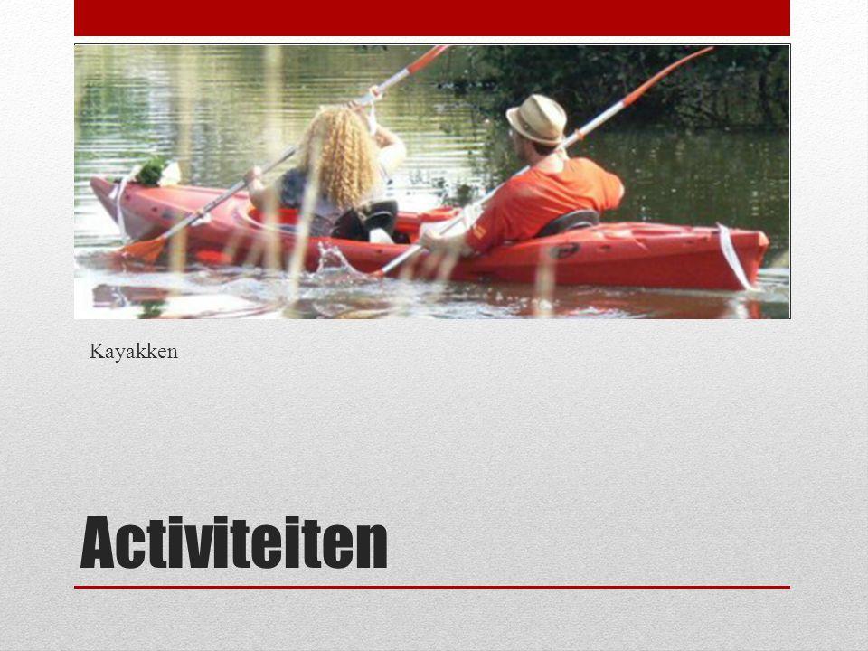 Activiteiten Kayakken