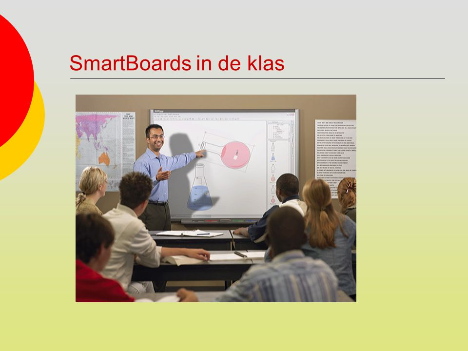 SmartBoards in de klas