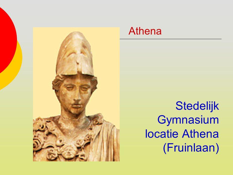 Stedelijk Gymnasium locatie Athena (Fruinlaan) Athena