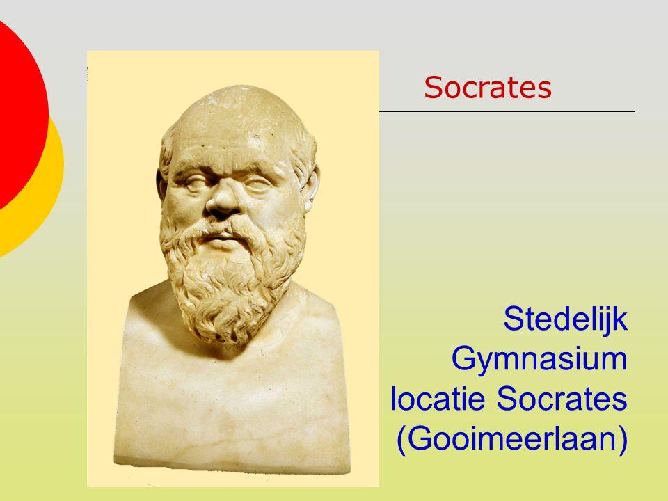 Stedelijk Gymnasium locatie Socrates (Gooimeerlaan) Socrates