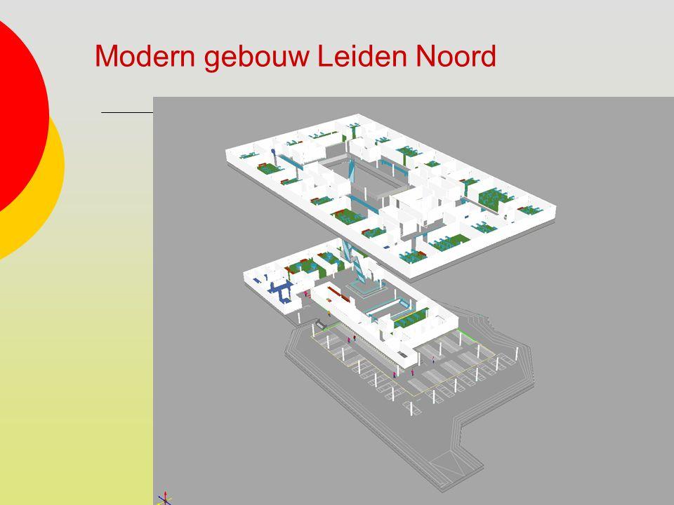 Modern gebouw Leiden Noord