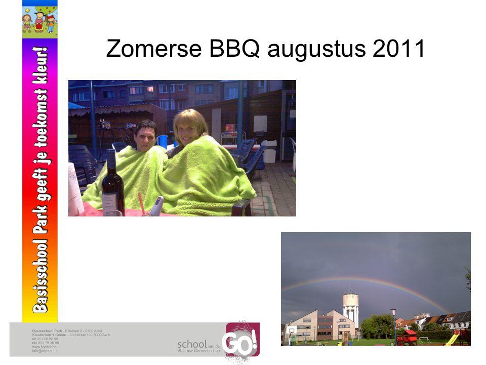 Zomerse BBQ augustus 2011