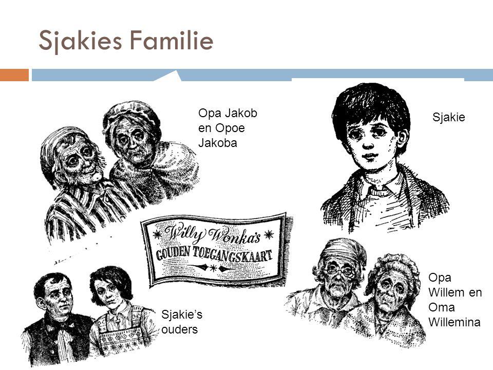 Sjakies Familie Opa Jakob en Opoe Jakoba Sjakie Sjakie's ouders Opa Willem en Oma Willemina