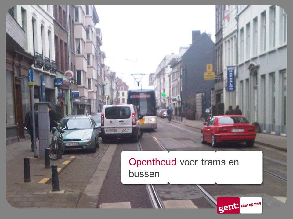Oponthoud voor trams en bussen