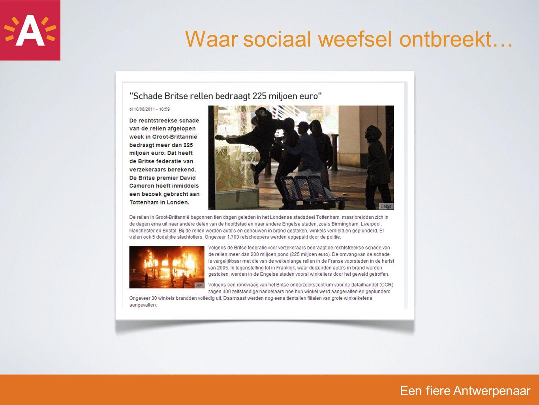 Een fiere Antwerpenaar Imago Waaraan denk je als je dit ziet?