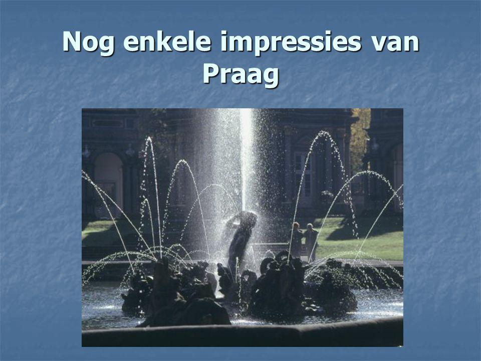 Nog enkele impressies van Praag