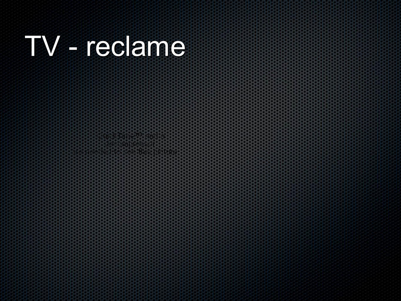 TV - reclame