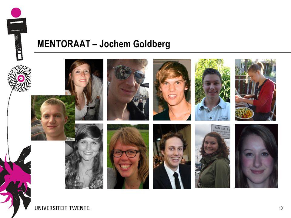 10 MENTORAAT – Jochem Goldberg