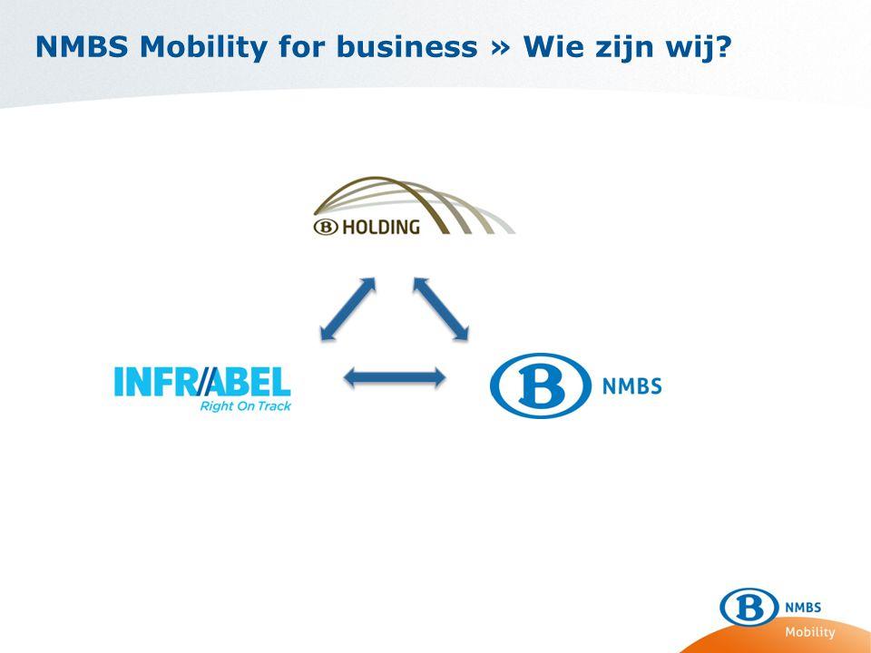 NMBS Mobility for business » Wie zijn wij?