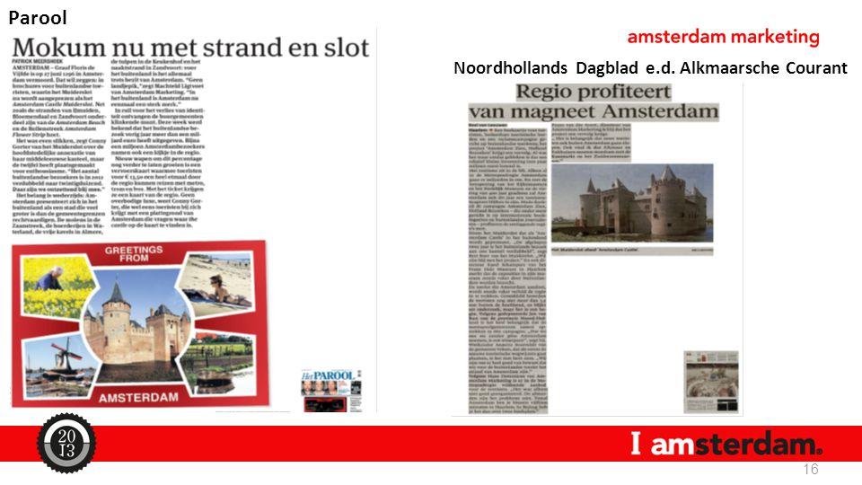 16 Parool Noordhollands Dagblad e.d. Alkmaarsche Courant