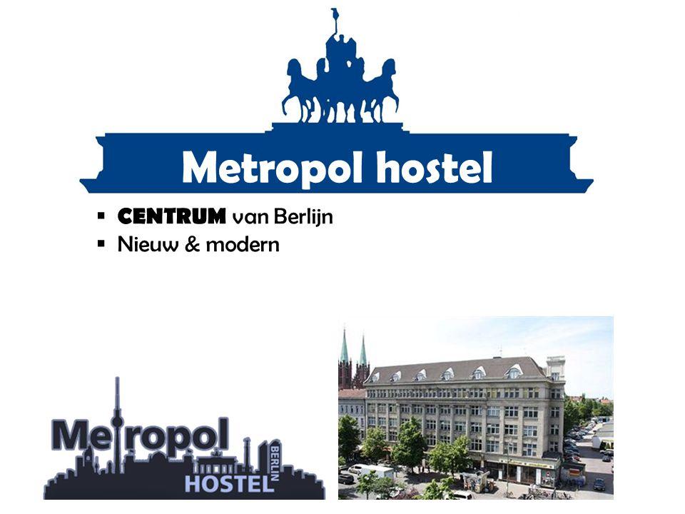 Metropol hostel  CENTRUM van Berlijn  Nieuw & modern