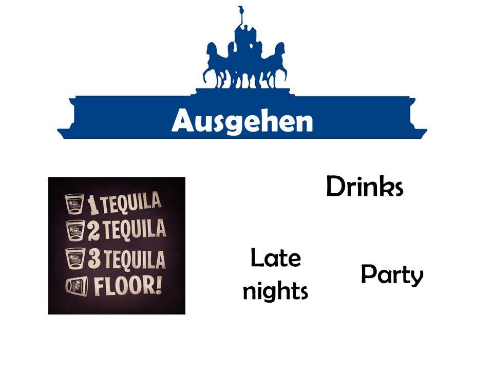 Ausgehen Party Drinks Late nights