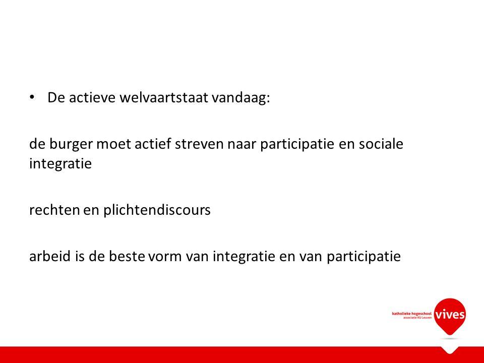 Enkele uitdagingen voor de toekomst Preventie en vorming KOPP werking en familie werking Integrale 'community based' zorg met out-reachende teams Stigmatisering versus inclusie