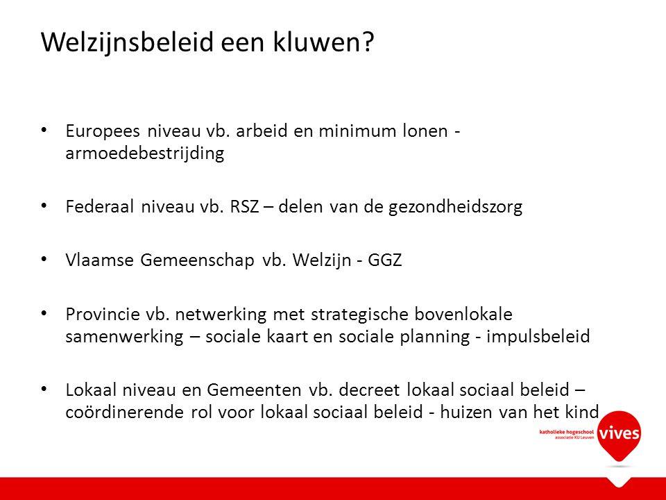Er zijn echter twee types CAW De autonome Centra Algemeen Welzijnswerk De Centra voor Tele-onthaal: 1 per provincie Dus: West-Vlaanderen heeft eigenlijk 3 + 1 private CAW's Tot 2009 ook nog 'centra algemeen welzijnswerk in het kader van de ziekenfondsen' zijn sinds 2010 ondergebracht binnen het woonzorgdecreet en noemen opnieuw 'diensten maatschappelijk werk'