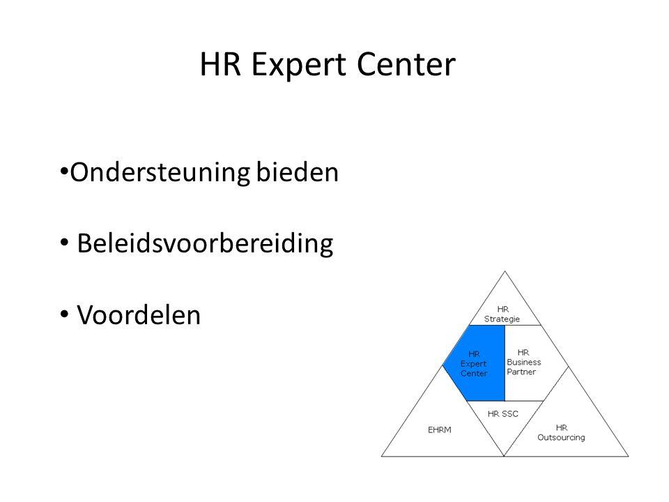 HR Shared Service Center Werkwijze Voordelen