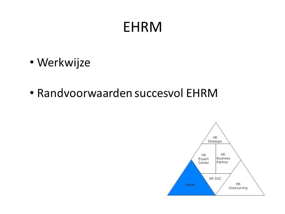 HR Outsourcing HR centrale rol Kritische succesfactoren van uitbesteding