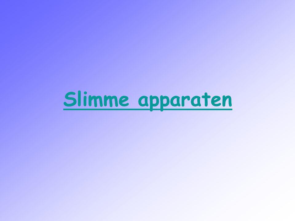 Slimme apparaten