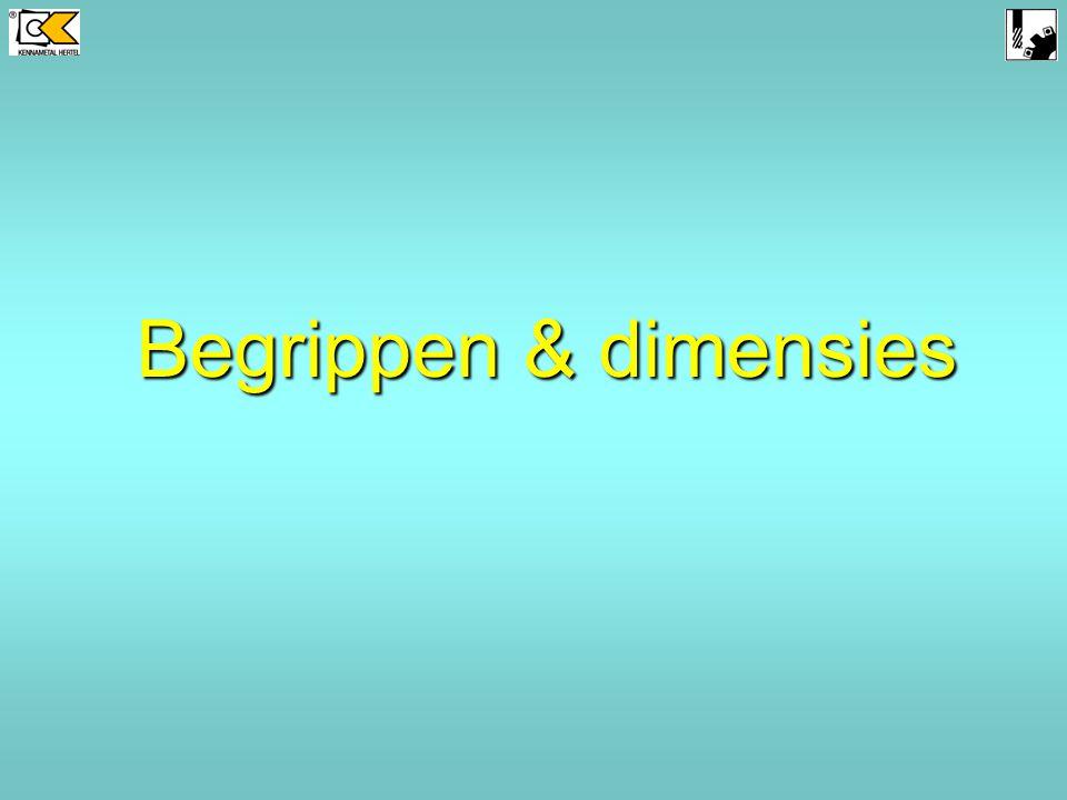 Vergelijk v.d. krachtenverdeling: 30° vs. 60° VHM-Schachtfrezen F3AJ…DL60 F2AH…DL30 Spiraalhoek 60° Spiraalhoek 30° VHM - Frezen basisprincipen