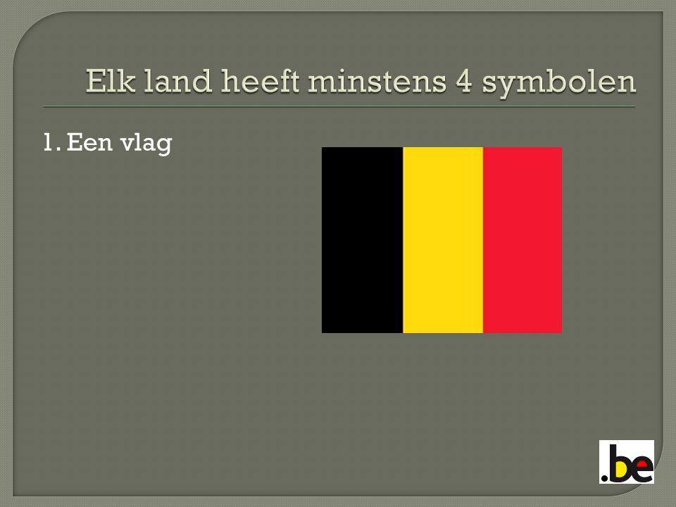 1. Een vlag